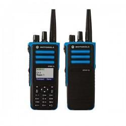 PORTATIF RADIO MOTOROLA DP4000EX   (Travailleur isolé)